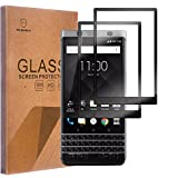 #10: Blackberry Keyone Tempered Glass [Full Cover][Anti-Bubble] [Anti-Scratch] [HD Ultra Clear] [High-Tech]Screen Protector for Blackberry Keyone By Senyoo [Pro Screen Guard Seller]