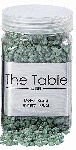 Deko Sand Streu Granulat Grob ca 500gramm Grün Azur Meeres Grün Boltze