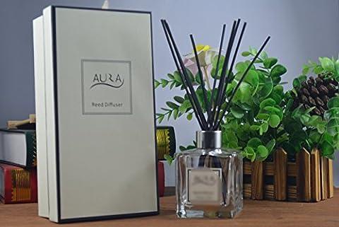 Diffuseur de parfum de luxe avec 10bâtonnets 120ml, fleur de lilas