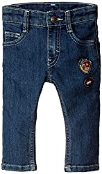 United Colors of Benetton Baby Boys Jeans (15A4CU9579D0G901_Blue_0Y)