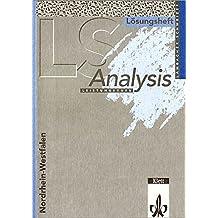 Lambacher-Schweizer, Sekundarstufe II, Neubearbeitung, Leistungskurs : Analysis (Nordrhein-Westfalen), Lösungsheft
