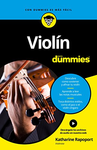 Violín para Dummies por Katharine Rapoport
