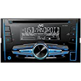 JVC KW-R520E - Radio CD para coche (USB/AUX, MP3, 50 W x 4), color negro
