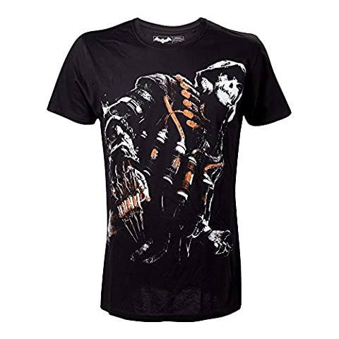 DC COMICS Batman Arkham Knight Nightmare Scarecrow T-Shirt (S, Black)