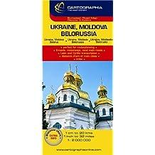 Carte Cartographia Ukraine, Bilorussie, Russie Occidentale