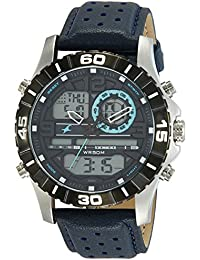 Fastrack Analog-Digital Blue Dial Men's Watch-NL38035SL02