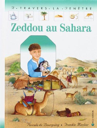 Zeddou au Sahara par Pascale de Bourgoing
