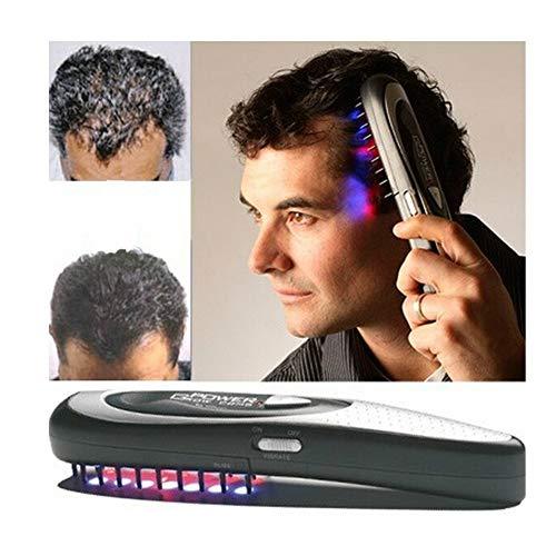 HL Professioneller Haarwuchs-Laserkamm, Regrowth-Therapiekämmbehandlung für Frauen und Männer Ausdünnendes Haar Ausgeglichener Haarausfall, Power-Massage Kammwachstumspinsel-Kit für Friseurwerkzeuge