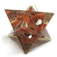 Beautiful Roter Jaspis 40mm Orgonite Merkaba-Stern Healing Reiki Feng Shui Geschenk Schutz Gesundheit Positive... preisvergleich bei billige-tabletten.eu