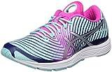 Asics Gel-Hyper Tri 3, Zapatillas de Running para Mujer, Varios Colores (Aqua Splash / Silver / Indigo Blue), 39 EU