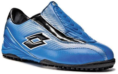 Lotto Zhero Gravity 300 TF JR, Chaussures de Sport-Football Mixte Enfant, Türkis (Turchese Scuro/Nero), 37 EU