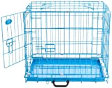Easipet Dog Cage, 30-inch, Blue