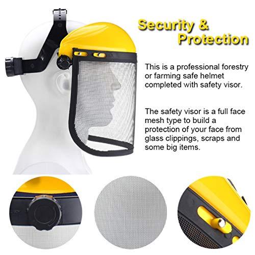 Máscara protectora de seguridad para trabajos de...