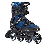 K2 Herren Inline Skates F.I.T. 80 BOA - Schwarz-Blau - EU: 44 - 30D0773.1.1.105