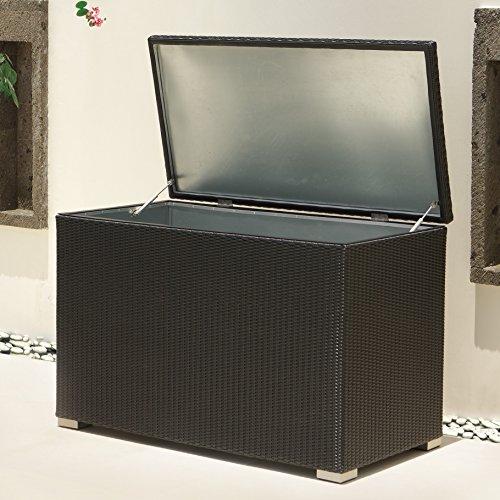 Kissenbox Auckland aus Aluminium -