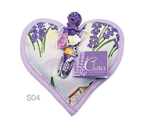 Produkt Der Provence–Börse getrockneter Lavendel in Herzform und seine Cigale - Honig Creme Brulee