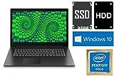 """Notebook V320-17IKB - Intel 4415U - 1000GB SSD + 1000GB HDD - 8GB DDR4-RAM - Windows 10 PRO - 44cm (17.3"""" LED TFT) Display MATT"""