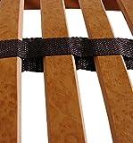 FMP Matratzenmanufaktur 22-0002 7 Zonen Lattenrost Rhodos KF, Kopf- und Fußteil verstellbar 44 Leisten Lattenroste Mittelgurt, 90 x 200 cm Test