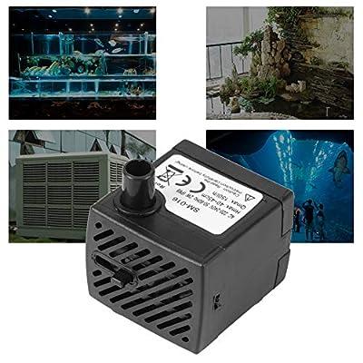 Acogedor Pompe à Eau Submersible, Pompe à Eau pour Aquarium 220V-240V 2W, à Faible Bruit, Faible Consommation D'énergie, Résistance à l'usure, pour Aquariums, Fontaines, Bec, Bocal à Poissons