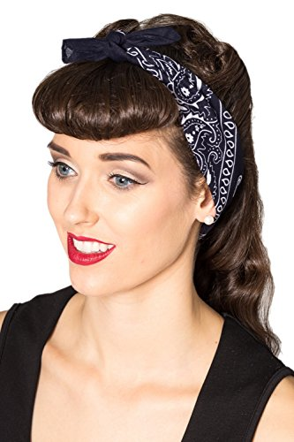 verbotene-lysia-vintage-retro-bandana-hairband-4-farben-navy-one-size