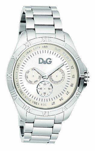D&G Dolce&Gabbana - DW0651 - Montre Homme - Quartz Analogique - Bracelet Argent