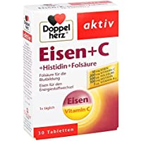 Doppelherz Eisen+vit.c+l-histidin Tabletten 30 stk preisvergleich bei billige-tabletten.eu