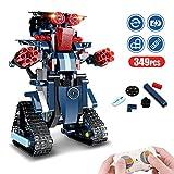 Kit Robot Jouet, Blocs de Construction pour Enfants Robot de Télécommande Créatif Divertissant Jouet D'éducation Précoce Bricolage Jeux de Construction pour Garçons Assemblée Robotique Rechargeable