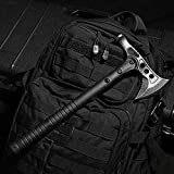 ELECTROPRIME 2687 Sturdy Survival Tool Jungle Survival Axe Military Hammer Axe Black
