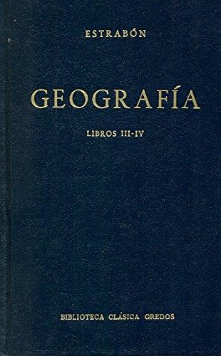 Geografia libros iii-iv (B. CLÁSICA GREDOS)