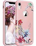 ULAK Coque iPhone XR, iPhone XR Coque Housse Étui Hybride Couche 2 Lourde en PC +...