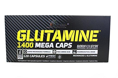 L-Glutamine Mega Caps 120 caps