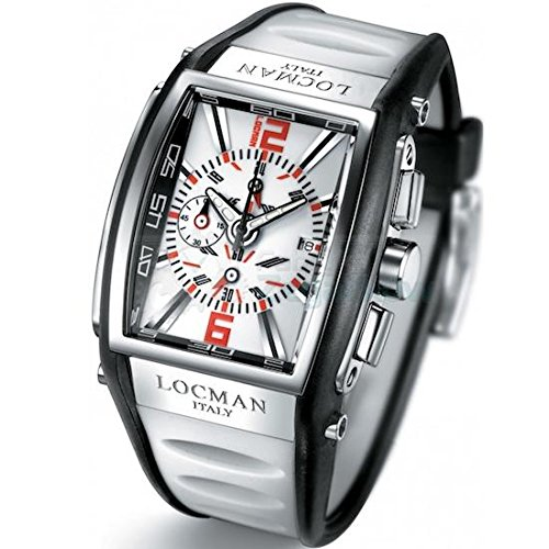 Locman 026200WHNRD5BKW Reloj de pulsera para hombre