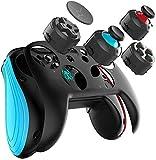 Spiel für Switch Controller, GEEKLIN Wireless Gamepad für PC und Android, 3D-Joystick-Module und Tastenmodule sind austauschbar, NICHT kompatibel mit iOS