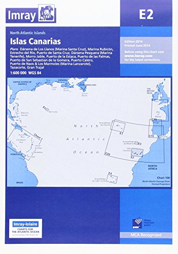 Imray Chart E2: Islas Canarias por Imray