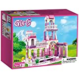 #9: Webby Girls Princess Castle Royal Feast Kids Toys Bricks Construction, 254 Pieces