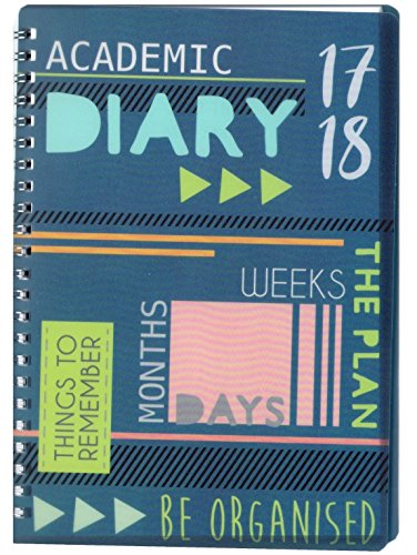 2017-2018-a5-academic-week-to-view-diary-spiral-pvc-cover-mid-year-3899-3899-grey-cover