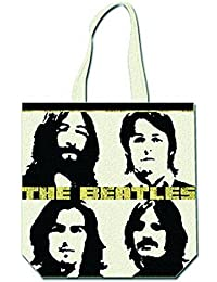 The Beatles - Rock Band Shopper Tasche - Beatles Four Heads - 40 x 39 cm