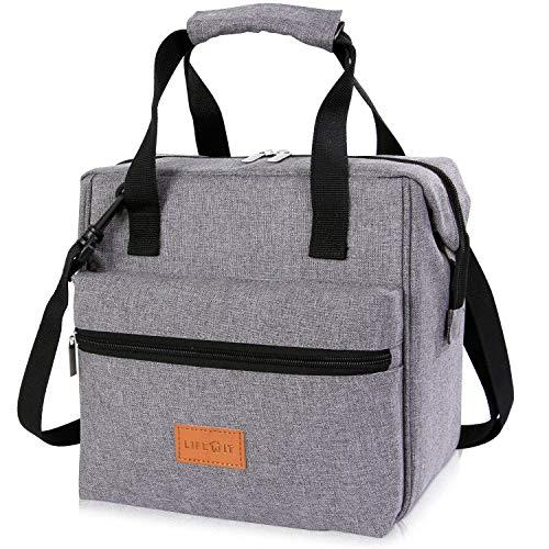 Lifewit 10litri borsa termica,borsa porta pranzo borse frigo manutenzione di freddo e caldo cibo alimentazione con tracolla e maniglia durevole lunch bag per campeggio/lavoro/ scuola