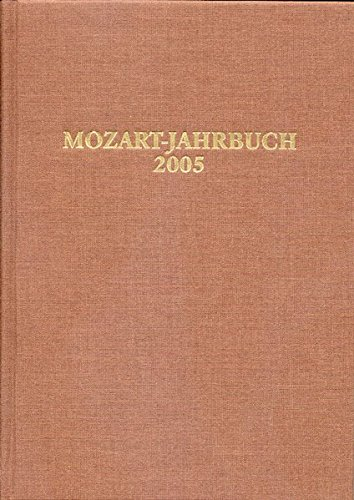 Mozart-Jahrbuch 2005