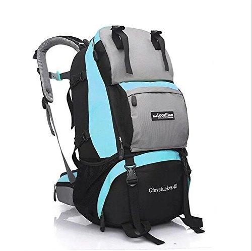 Wmshpeds Moda tempo libero pacchetto fitness gli uomini e le donne all'aperto in funzione off-road package Arrampicata Cavalcare borsa a tracolla B