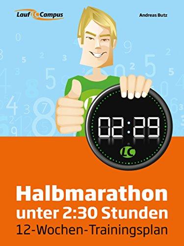 Halbmarathon unter 2:30 Stunden