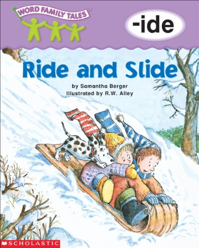 Word Family Tales: Ride and Slide -ide English Edition