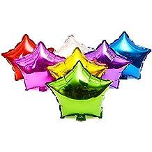 Gosear Color al azar 50pc globos decoración de la boda del globo globos fiesta de cumpleaños 10 pulgadas