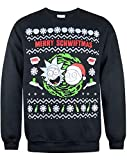 Official Brand Rick and Morty Merry Schwiftmas Men's Christmas Sweater