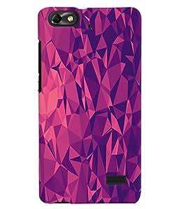 Fuson 3D Printed Pattern Designer Back Case Cover for Huawei Honor 4C - D1066