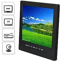 """8"""" inch LCD Color CCTV Monitor with VGA BNC AV Port and Speaker 800*600 Resolution, [Importado de UK]"""
