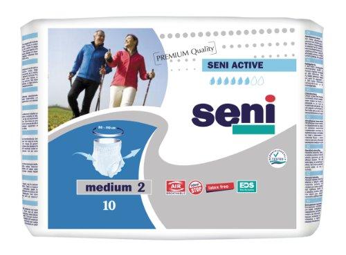 Seni Active - Gr. Medium - PZN 03132564 - (80 Stück).