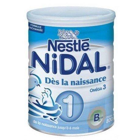 Nestlé Nidal 1 Dès la Naissance Jusqu'à 6 Mois 800