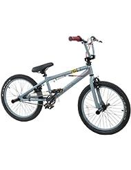 """Piranha P123 BMX 20"""" Wheel Grey/Yellow Freestyle (Acero, Stiff)"""