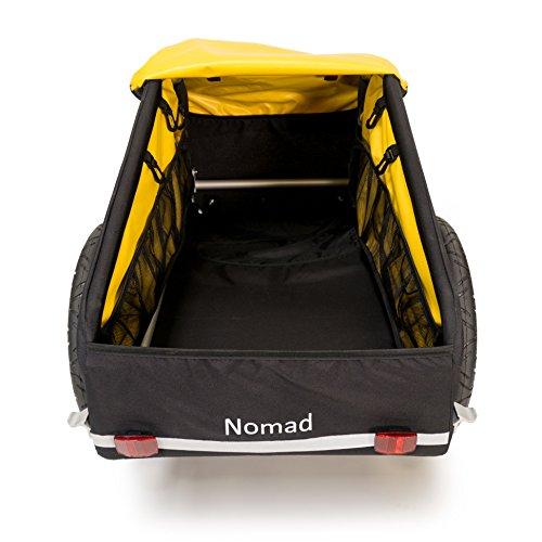Burley  Fahrradlastenanhänger Nomad, schwarz/gelb, One Size, 3091960000 - 4